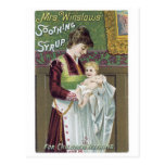 Mrs Winslows Soothing Syrup Post Card