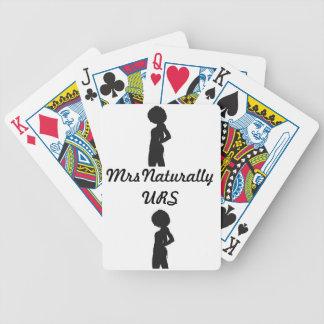 MrsNaturallyURS Cards Bicycle Playing Cards