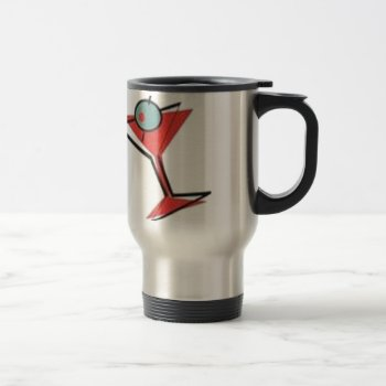 Mrtini Time Travel Mug by CREATIVEBRANDING at Zazzle