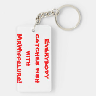 MrWiffelure Double-sided Key Chain
