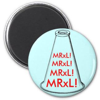¡MRxL! Imán Redondo 5 Cm