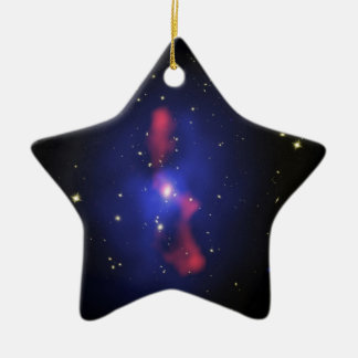 MS 0735 Black Hole Blast Ceramic Ornament
