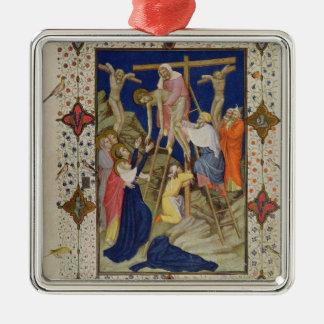 Ms 11060-11061 horas de la cruz: Vespers, el De Ornato
