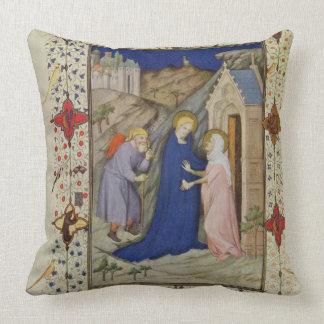 Ms 11060-11061 horas de Notre Dame: Laudes, el VI Almohadas