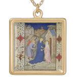 Ms 11060-11061 horas de Notre Dame: Laudes, el VI Collares
