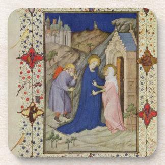 Ms 11060-11061 horas de Notre Dame: Laudes, el VI Posavaso