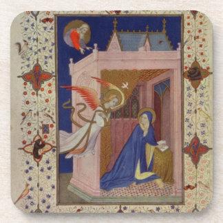 Ms 11060-11061 horas de Notre Dame: Matins, Posavasos De Bebida