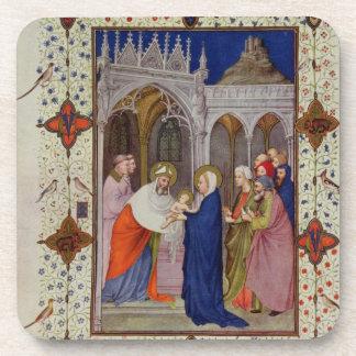 Ms 11060-11061 horas de Notre Dame: Ningunos, el P Posavasos