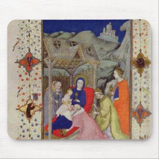 Ms 11060-11061 horas de Notre Dame: Sexte, Adorati Alfombrilla De Ratón