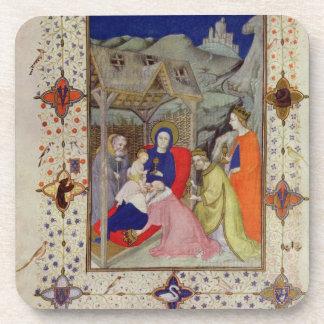 Ms 11060-11061 horas de Notre Dame: Sexte, Adorati Posavaso