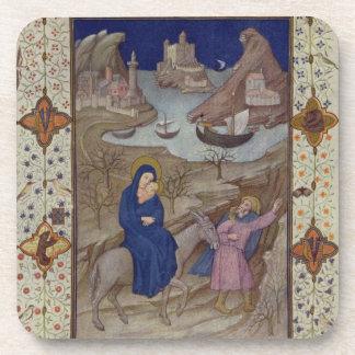 Ms 11060-11061 horas de Notre Dame: Vespers, la F Posavasos De Bebida
