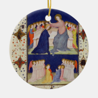 MS 11060-11061 Hours of Notre Dame: Compline, The Ceramic Ornament