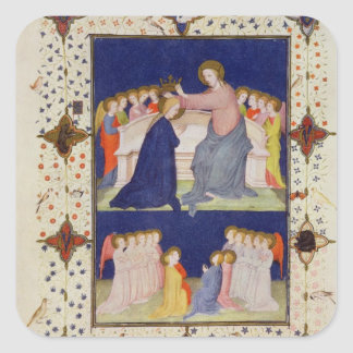 MS 11060-11061 Hours of Notre Dame: Compline, The Square Sticker
