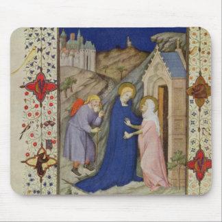 MS 11060-11061 Hours of Notre Dame: Laudes, The Vi Mouse Pad