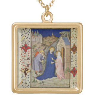 MS 11060-11061 Hours of Notre Dame: Laudes, The Vi Jewelry