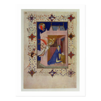 MS 11060-11061 Hours of Notre Dame: Matins, The An Postcard