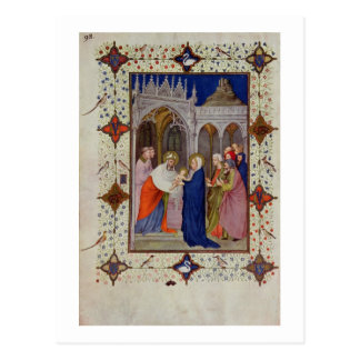 MS 11060-11061 Hours of Notre Dame: None, The Pres Postcard