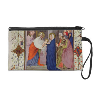 MS 11060-11061 Hours of Notre Dame: None, The Pres Wristlet