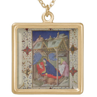 MS 11060-11061 Hours of Notre Dame: Prime, The Bir Jewelry