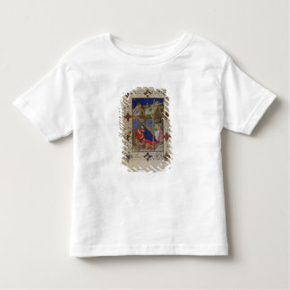 MS 11060-11061 Hours of Notre Dame: Prime, The Bir Toddler T-shirt