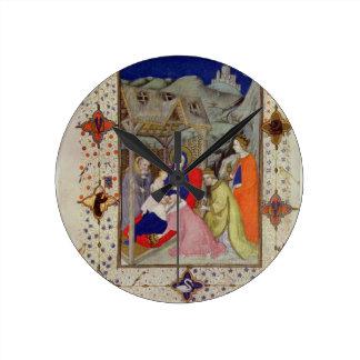 MS 11060-11061 Hours of Notre Dame: Sexte, Adorati Round Clock