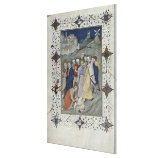 MS 11060-11061 Hours of the Cross: Matin and Laude Canvas Print