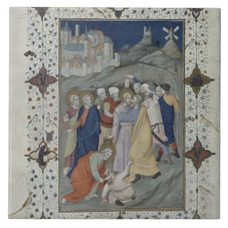 MS 11060-11061 Hours of the Cross: Matin and Laude Large Square Tile