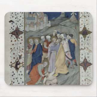 MS 11060-11061 Hours of the Cross: Matin and Laude Mouse Pad