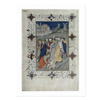MS 11060-11061 Hours of the Cross: Matin and Laude Postcard
