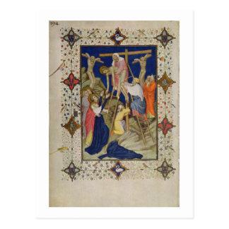 MS 11060-11061 Hours of the Cross: Vespers, the De Postcard