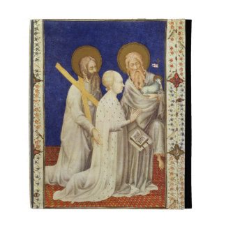 MS 11060-11061 John, Duc de Berry on his knees bet iPad Folio Cover