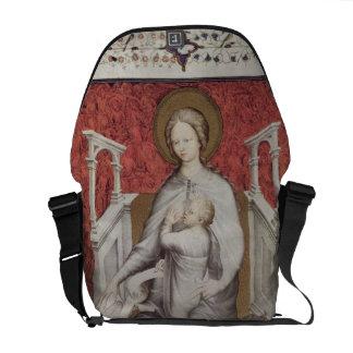 Ms 11060-11061 la Virgen que amamanta al Jesu infa Bolsas De Mensajeria
