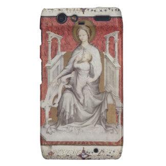 Ms 11060-11061 la Virgen que amamanta al Jesu infa Motorola Droid RAZR Carcasas
