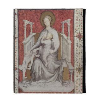 MS 11060-11061 The Virgin suckling the infant Jesu iPad Folio Case