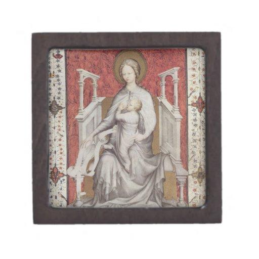 MS 11060-11061 The Virgin suckling the infant Jesu Premium Gift Box