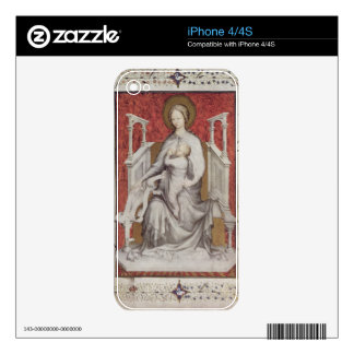 MS 11060-11061 The Virgin suckling the infant Jesu Decal For iPhone 4S
