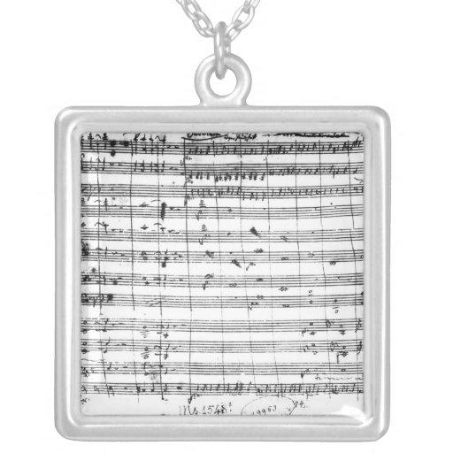 Ms.1548 Ouverture de la ópera 'Don Giovanni Colgantes