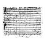 Ms.1548 Ouverture de la ópera 'Don Giovanni Postales