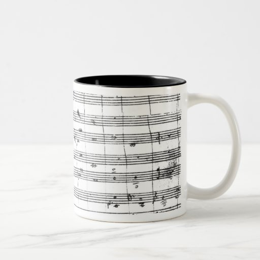 Ms.1548  Ouverture of the opera 'Don Giovanni' Mugs