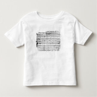 Ms.1548  Ouverture of the opera 'Don Giovanni' T Shirt