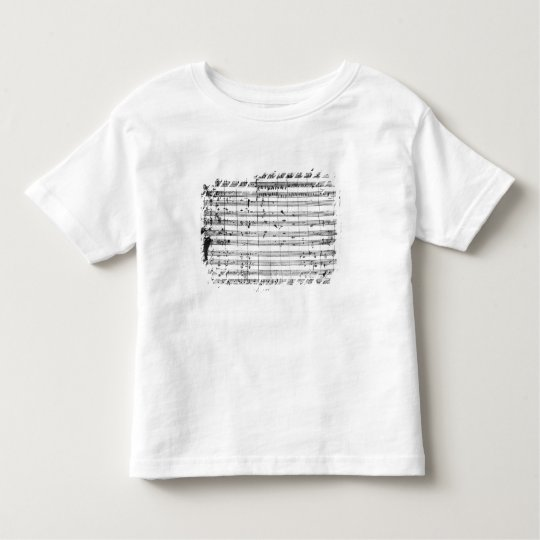 Ms.1548  Ouverture of the opera 'Don Giovanni' Toddler T-shirt
