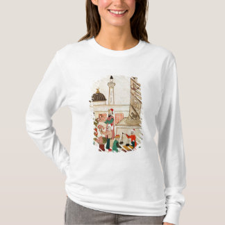 Ms 1671 A Bazaar in Istanbul, c.1580 T-Shirt