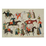 Ms 1671 A Horse Market, c.1580 Poster