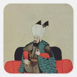 Ms 1671 Amurath  III  c.1580 Square Sticker