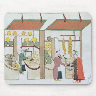 Ms.1671 Two Fruit Shops, c.1580 Mouse Pad