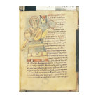 Ms 18 f.8 St. Matthew the Evangelist Canvas Print
