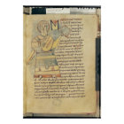 Ms 18 f.8 St. Matthew the Evangelist Poster