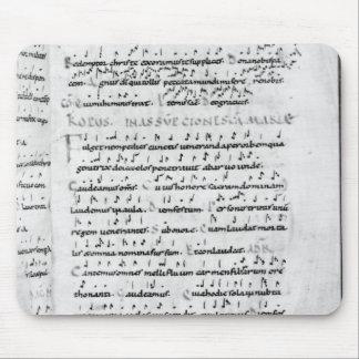 Ms 18 fol.69 Assumption from 'Troparium' Mouse Pad