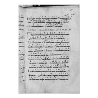 Ms 18 fol.69 Assumption from 'Troparium' Poster