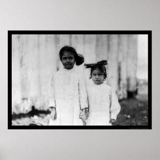 Ms 1911 de Shuckers Biloxi de la hermana Poster